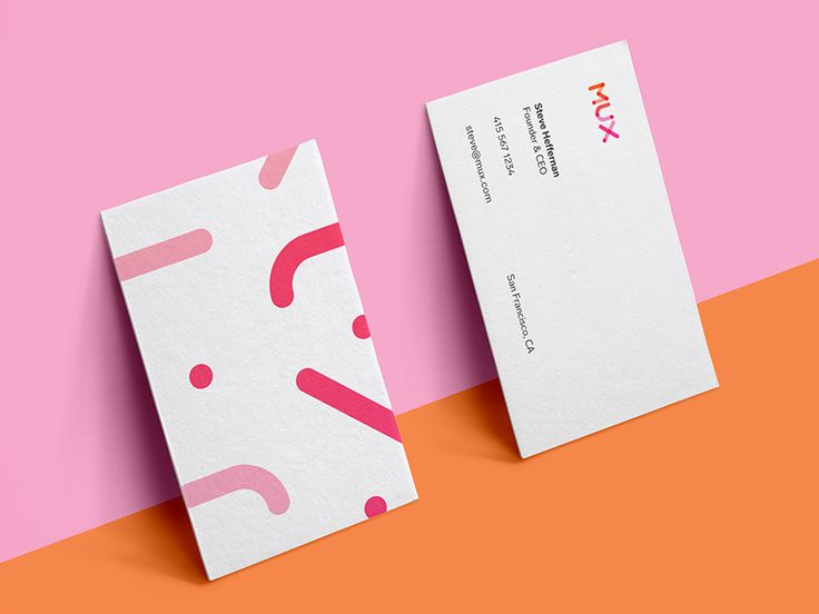 Mux : Business Cards by ueno.