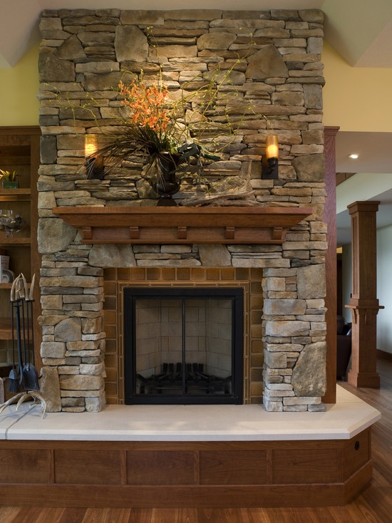 1000+ images about Fireplaces on Pinterest | Painted brick ...