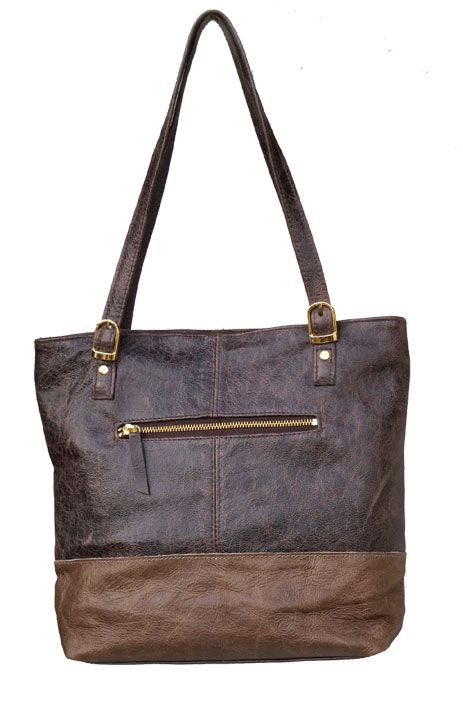 Lifestyle Brown & Choc Handmade Genuine Leather Shopper Bag.  R 1'189. Handcrafted in Cape Town, South Africa. Code: Lorna Choc See online shopping for availability. Shop online https://www.thewhatnotshoes.co.za Free delivery within South Africa.