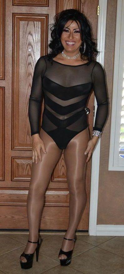 Suspenders Crossdresser Pantyhose Pics Bridal Leg 118