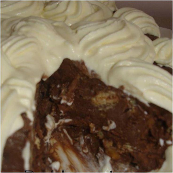 Σοκολατένιο γλυκό ψυγείου σαν μωσαικό !! Μούρλια γεύση !!