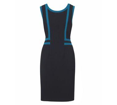 Diana Ferrari Kaisey Panel Shift Dress