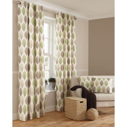 Find This Pin And More On Living Room Ideas Home Of Style Shoula Leaf Green Curtains