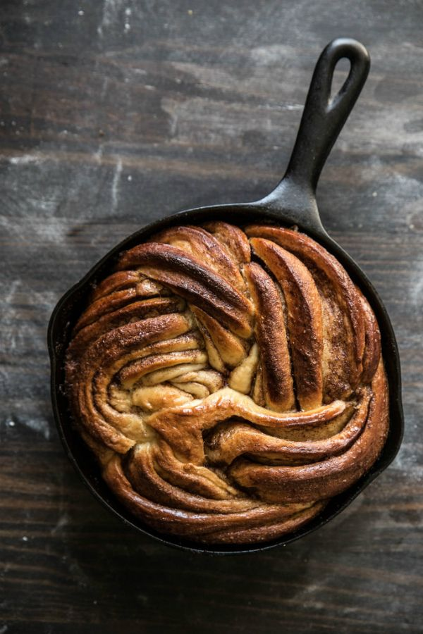 Kaneelbrood met bruine suiker. De beste blogrecepten op elleeten.nl   ELLE Eten