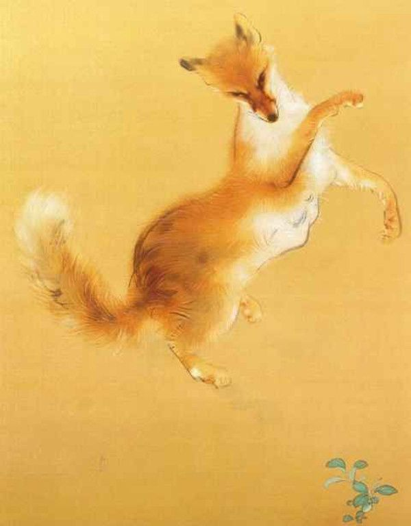 Fox by Takeuchi Seiho