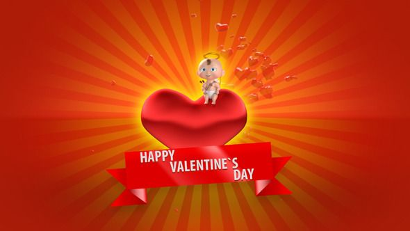 Little and cute animation for Valentine`s Day !  Hope you like it !   Project contain several passes (with alpha channel), so you can manage them as you want !. For example you can change backgroun...