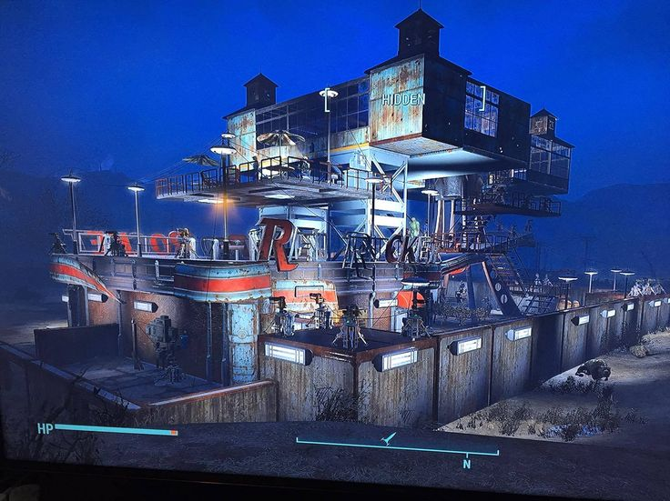 Fallout 4 Nuka World Red Rocket settlement