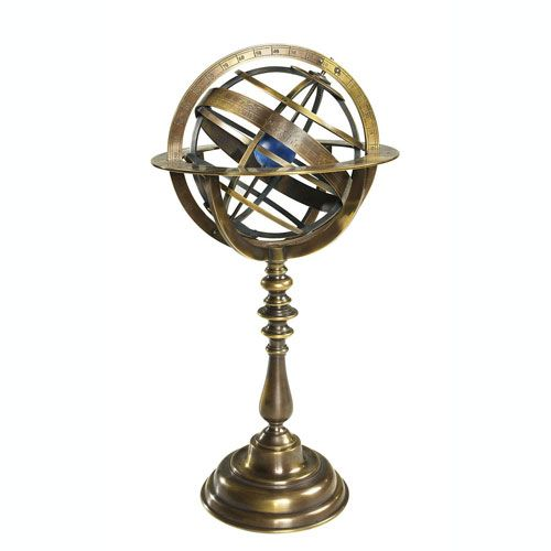 Bronze armillary dial at British Museum shop online