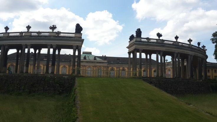 Schloss Sanssouci, Potsdam, Brandenburg, Germany