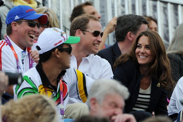 Kate Middleton Peter Phillips Photos: Olympics Day 4 - Equestrian