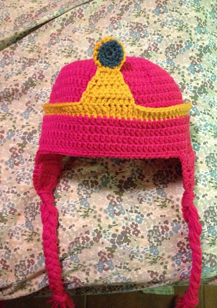 Princess Bubblegum crochet hat  Adventure Time