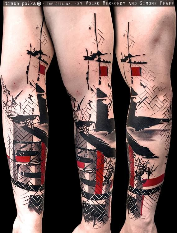 Trash Polka® Tattoo by Simone Pfaff and Volko Merschky