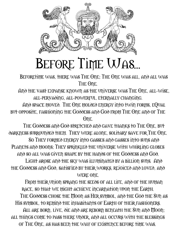 Before Time Was...