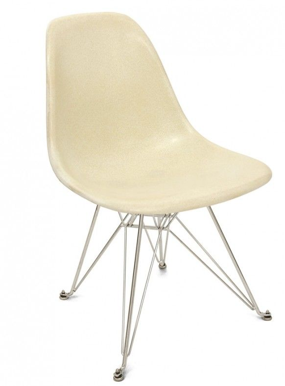 Eiffel Base Shell Chair – designed by Charles and Ray Eames in 1948 was a simple side chair.