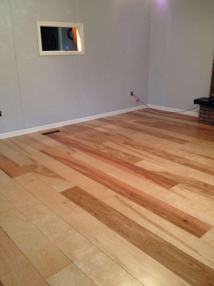 diy birch plywood plank floors remodeling ideas. Black Bedroom Furniture Sets. Home Design Ideas