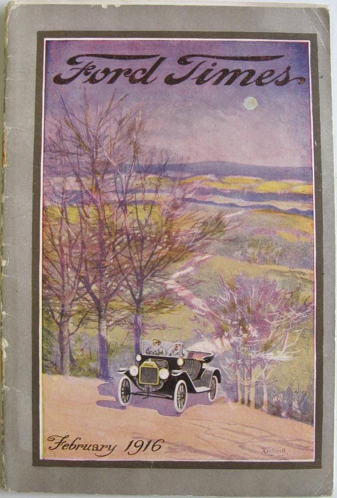 FORD TIMES Vol 4 No. 7 Car Magazine Feb 1916