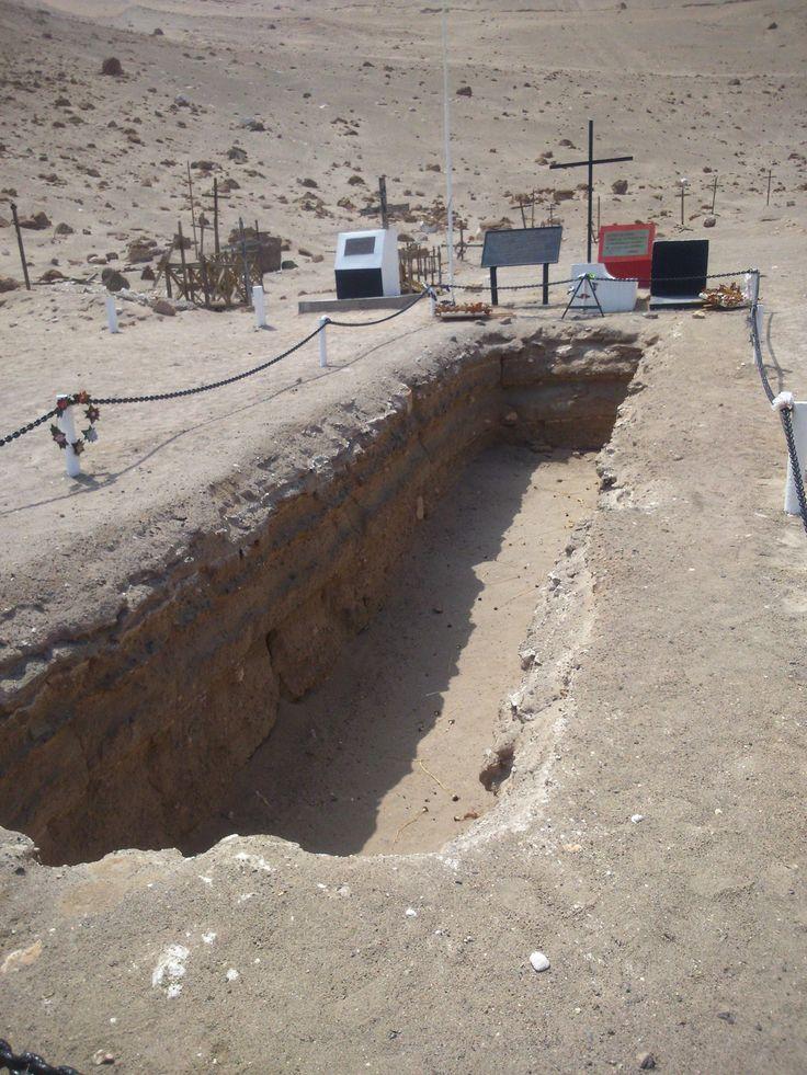 La búsqueda dio resultados el 2 de junio de 1990 cuando, al excavar  en el sector nor-poniente del Cementerio de Pisagua, hallaron una fosa. Allí mismo, en una planicie frente al mar, fueron fusilados y luego arrojados a la fosa común, cubriéndolos con cal y luego con tierra.