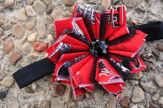 Texas Tech theme Baby Girl/Toddler/Newborn by InspiredbyZoelle, $6.00