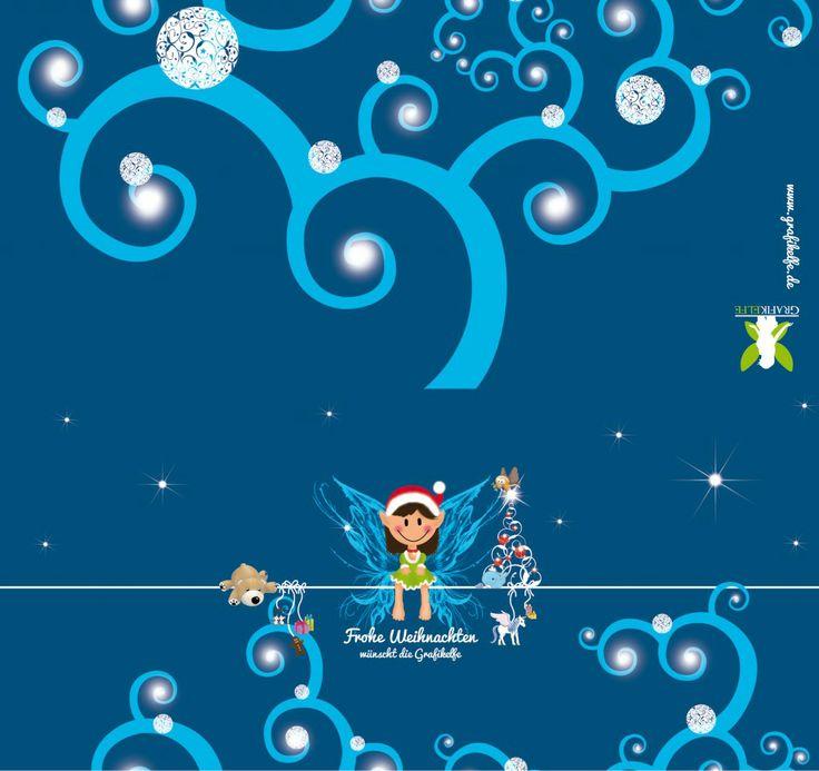 Weihnachtskarte Grafikelfe 2013