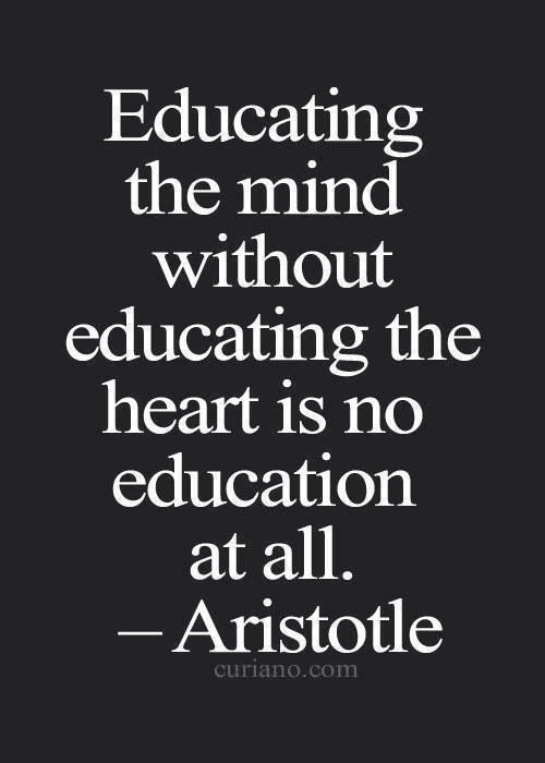 Educate yourself broadly