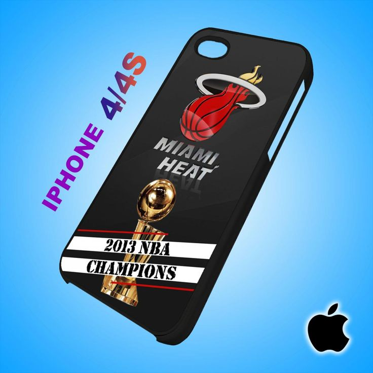 Miami Heat 2013 NBA Champions iPhone 4/4S Case Durable Plastic