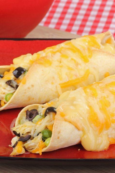 Cheesy Chicken Enchiladas (Weight Watchers)