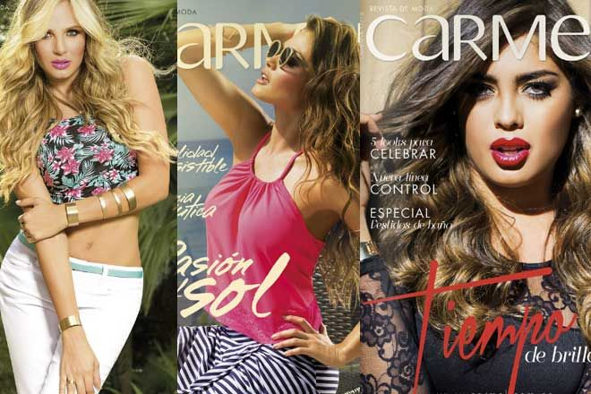 ( Nuevos ) Catalogos Carmel campaña 2017