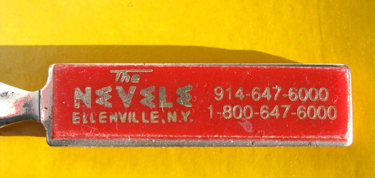 The Nevele Grand Hotel and Country Club * Letter Opener * Vintage * Borscht Belt