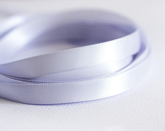 1929_Lilac ribbon 10 mm, Silk ribbon, Double faced ribbon, Satin ribbon, Ribbon silk, Band, Ribbon double side, Satin band for jewelry_10 m.