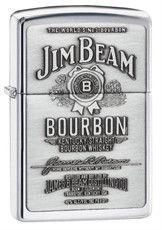 Personalized Zippo Jim Bean High Polish Chrome Lighter