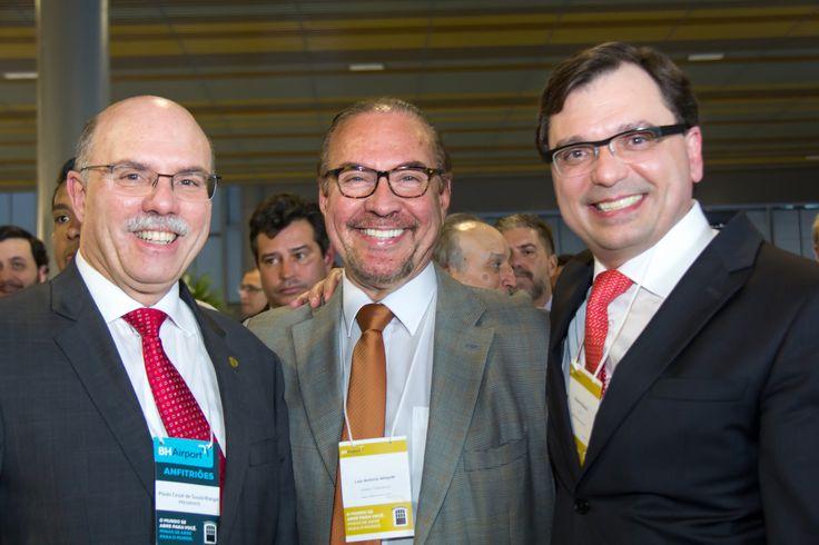 Paulo Rangel, Luiz Antônio Athayde e Ricardo Bisondi