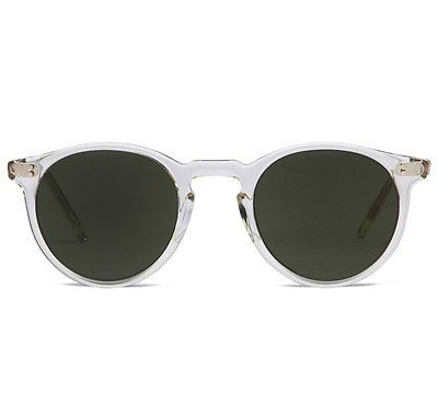 NEW VINTAGE CIRCA 1987 OLIVER PEOPLES O'MALLEY BERC WITH GRAY LENSES SUNGLASSES