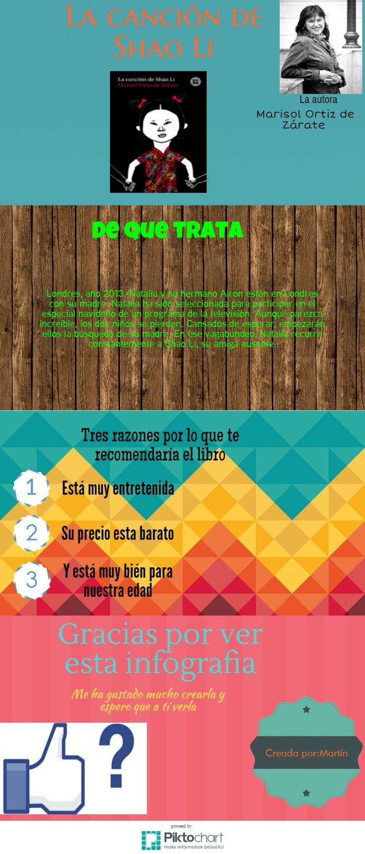 Infolectura, La canción de Saho-Li, por Martín