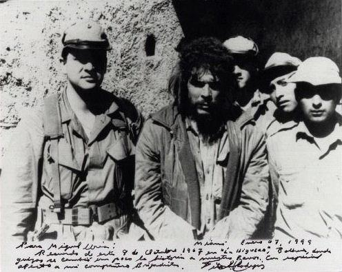Che Guevara- moments before execution - Oct 9, 1967