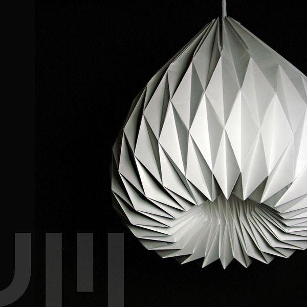 SNOWDROP P  Origami lamp