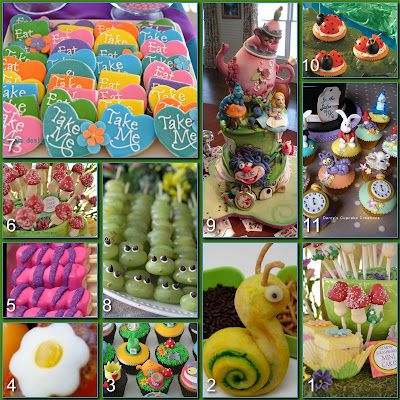 Disney Donna Kay: Disney Party Boards...Mad Hatter Tea Party