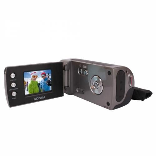 "TFT LCD 4X Digital  Zoom Camcorder  This Camcorder has a 2.0"" TFT LCD display, 3M (2048 x 1536) resolution, 150CM focus range, built in mic, built in speakers, and compatibility with Windows Vista, XP and 2000."