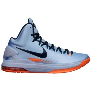 Nike KD V - Men's - Ice Blue/Squadron Blue/Total Orange/Melon