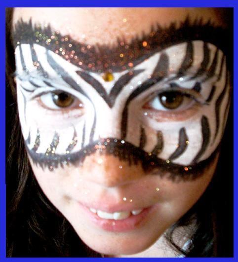 best 25 zebra face paint ideas on pinterest fasching schmink ideen f r kinder zebra makeup. Black Bedroom Furniture Sets. Home Design Ideas