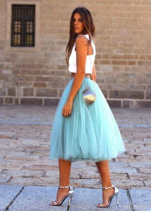 Выкройка юбки пачки для девушки