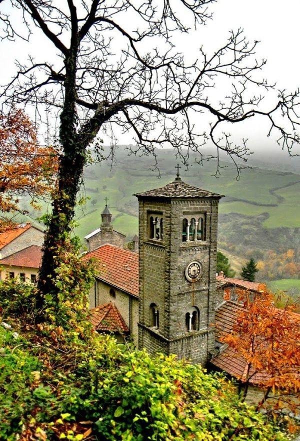 Piancaldoli, scorcio della chiesa parrocchiale,  Tuscany,  Italy by BLOOMS68