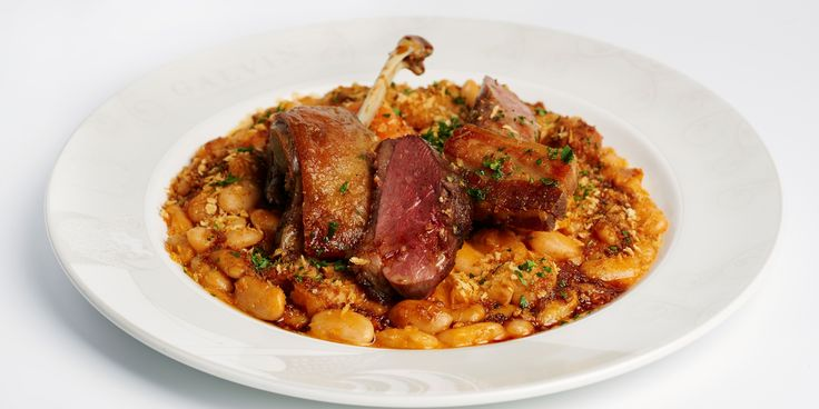 A hearty French duck cassoulet recipe originating in the south of France from the Galvin brothers. Serve on a cold wintry night and smile.
