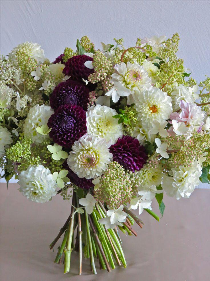 Dahlia Bouquet, i love these flowers!