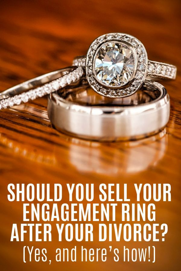 sell your engagement ring after your divorce wedding ring wedding