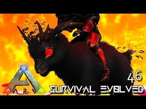 awesome ARK: SURVIVAL EVOLVED - DEMONIC SHINEHORN & LIGHT