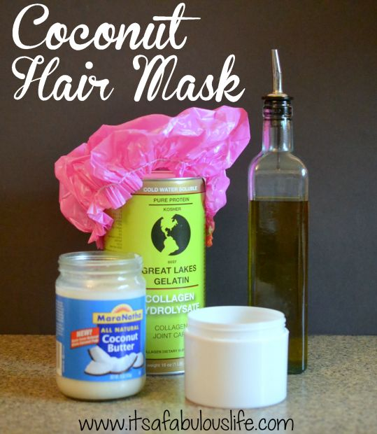 Natural Coconut Oil Hair Mask