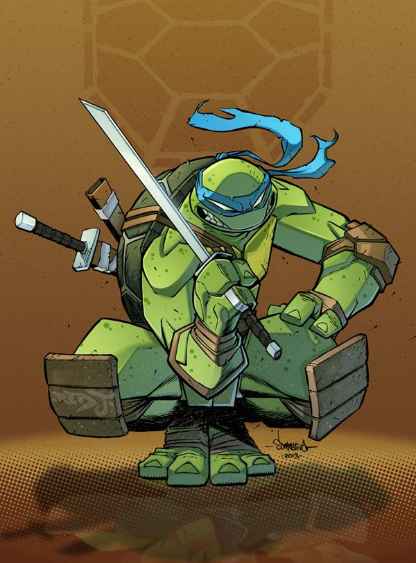 Leonardo TMNT by Red-J on @DeviantArt