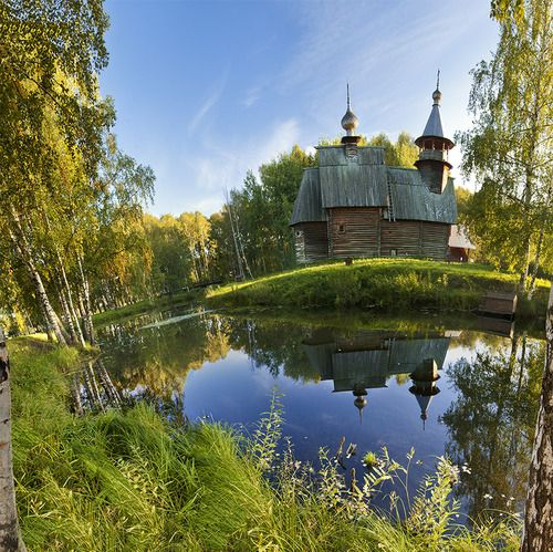♔ Enchanted Fairytale Dreams ♔: Alexey Chistyakov, Church, Fairyt Dreams, Enchanted Fairytale, Chistyakov Serenity, Enchanted Building, Beautiful Places, Fairytale Dreams, Serenity Balance