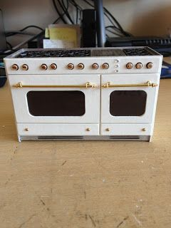 Ranges, stoves, ovens and kitchen units by ELF Miniatures, United Kingdom