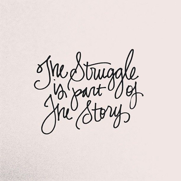 "Tattoo Ideas & Inspiration - Quotes & Sayings | ""The Struggle is"